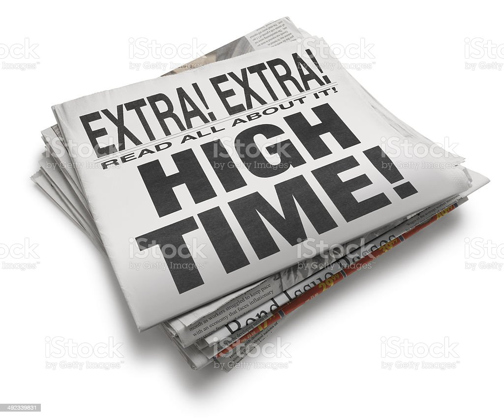 High Time! stock photo