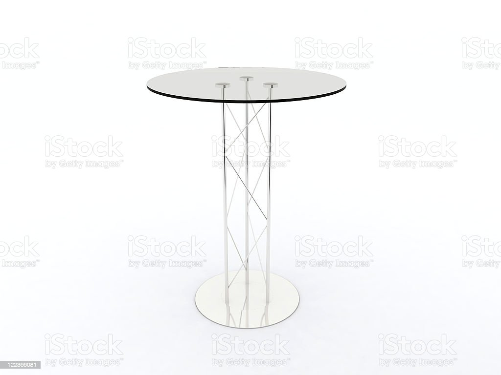 High Top Table stock photo
