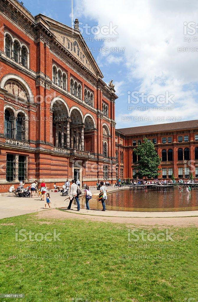 High tourism season in London stock photo