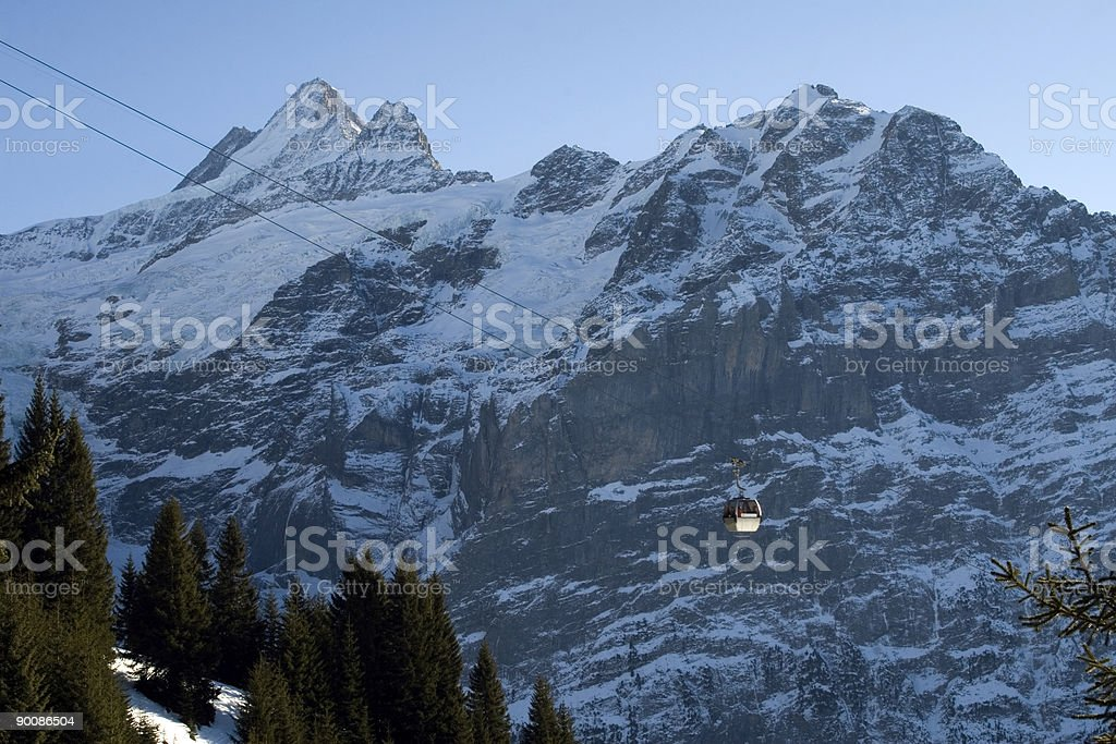 High up in the montains. royalty-free stock photo