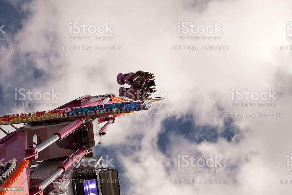 High up stock photo