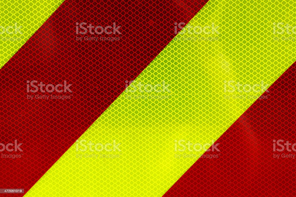 High Visibility Reflector stock photo