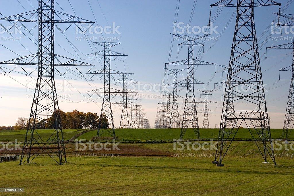 high voltage 01 stock photo