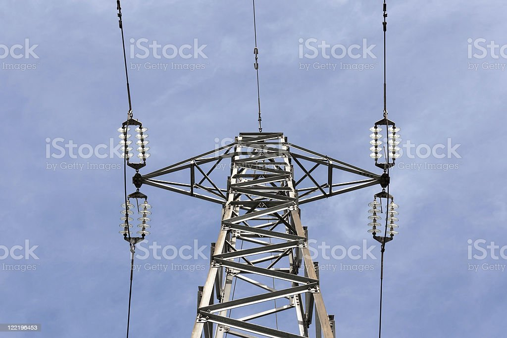 High Voltage Electric Pylon royalty-free stock photo
