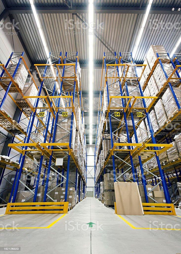 High warehouse stock photo