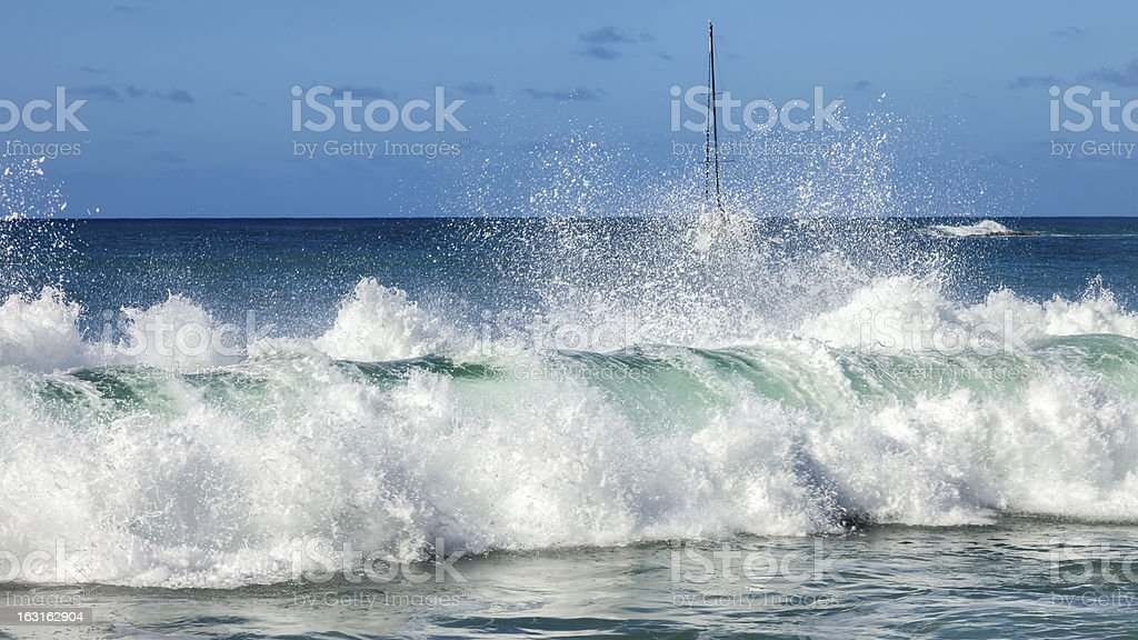 High water royalty-free stock photo