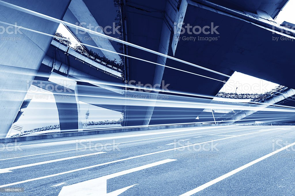 high way bridge stock photo