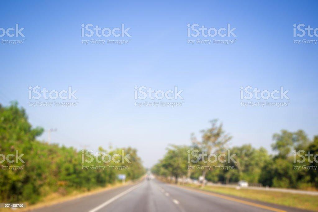 High way stock photo