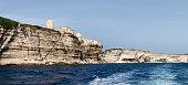 High white cliffs of Bonifacio