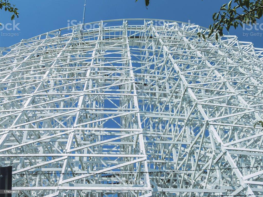 high white coaster royalty-free stock photo