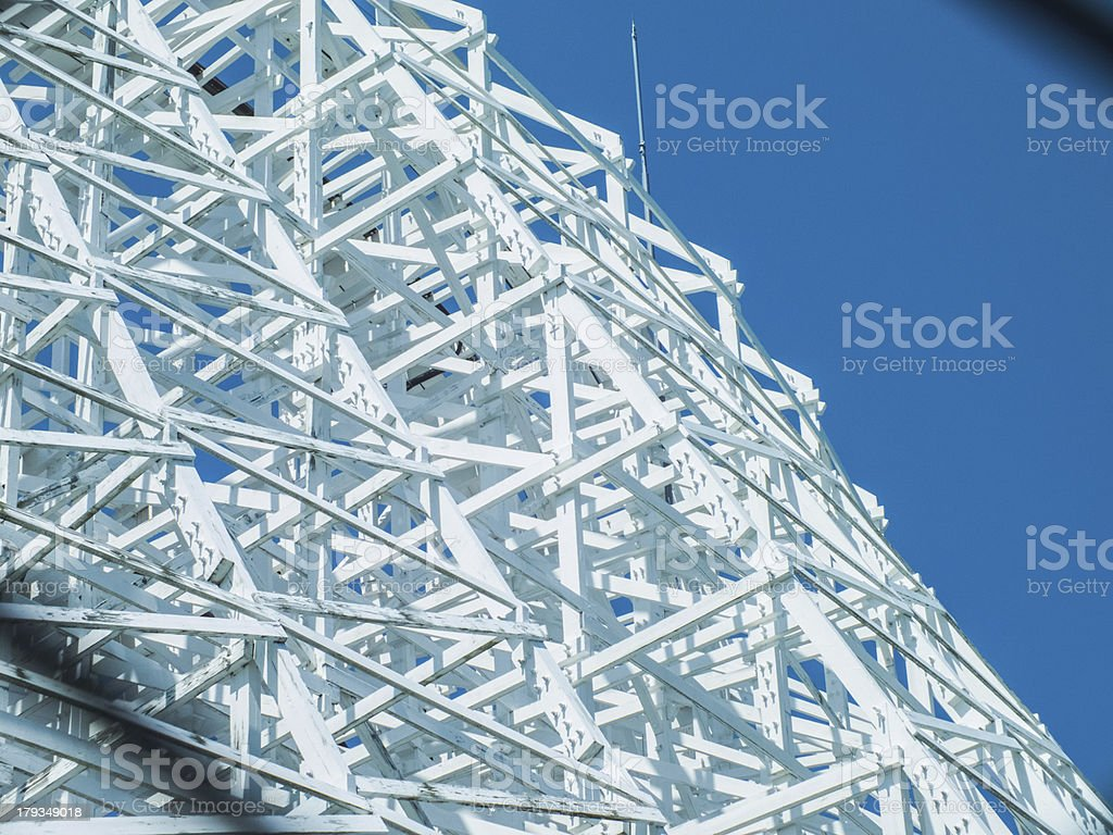 high white coaster royalty-free stock photo