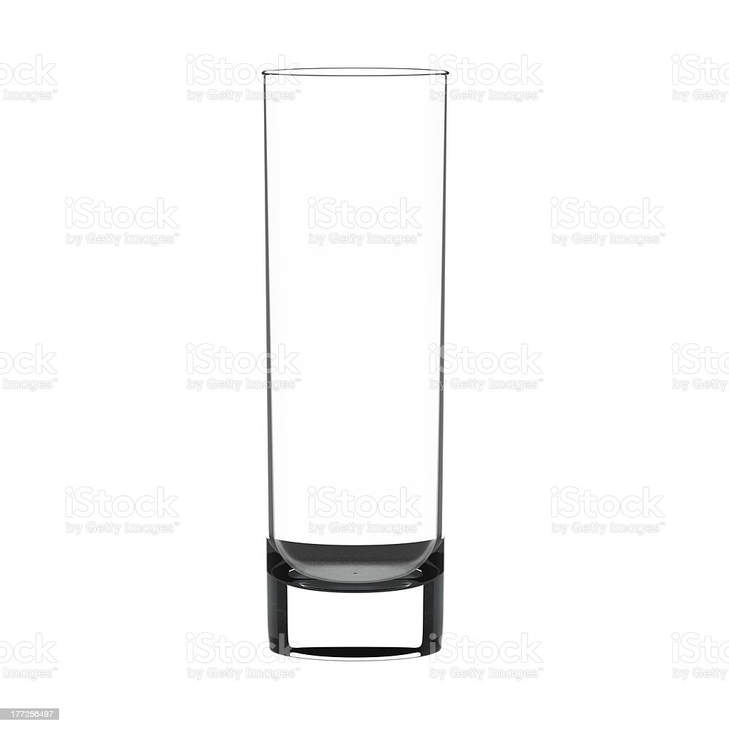 Highball glass stock photo