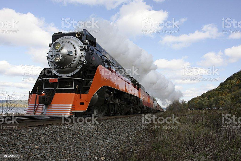 Highball Steam stock photo