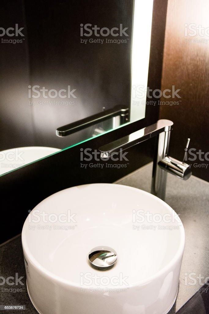 High-class sink stock photo