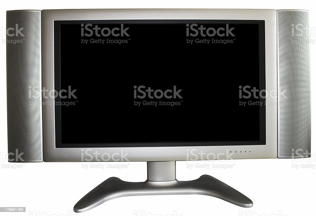 High-Definition TV stock photo
