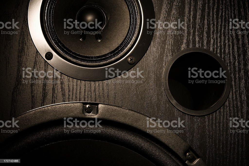 High-End Speaker System stock photo