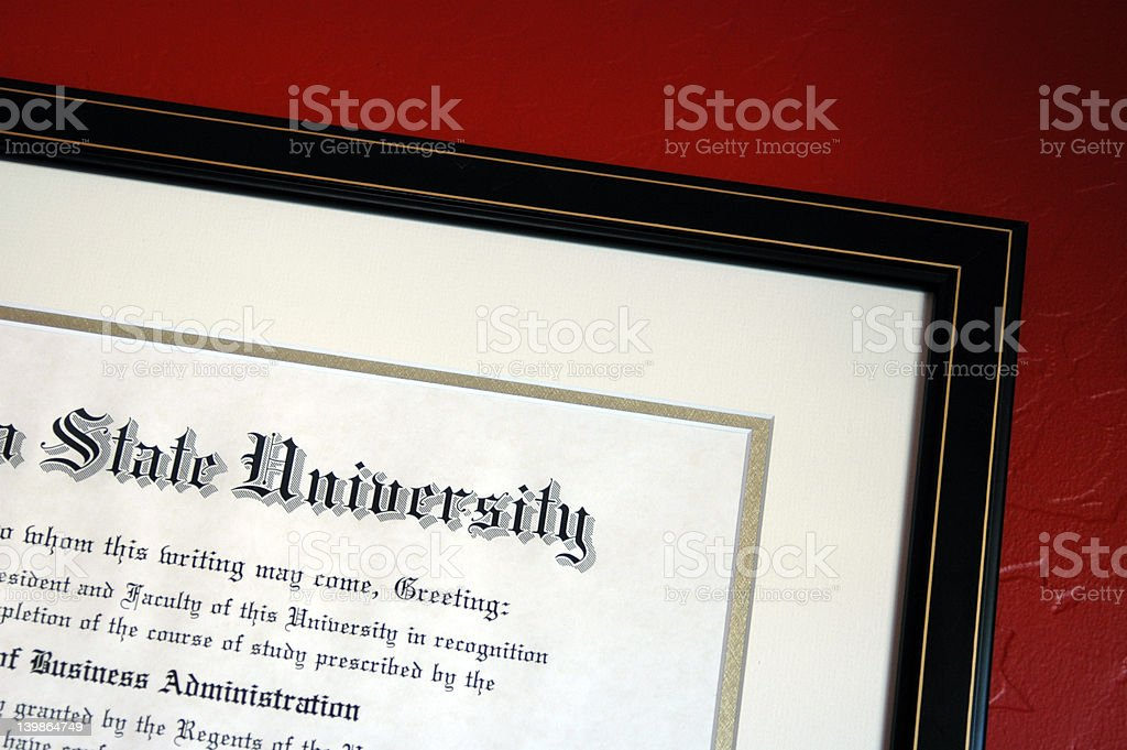 Higher Education stock photo