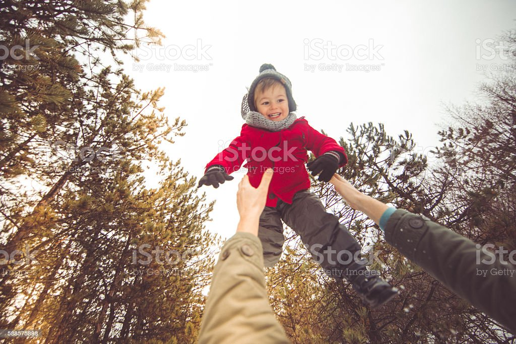 Higher! stock photo