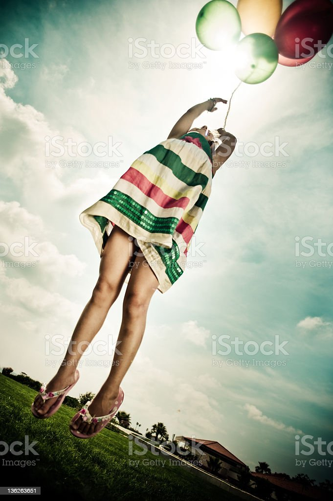 Higher up royalty-free stock photo