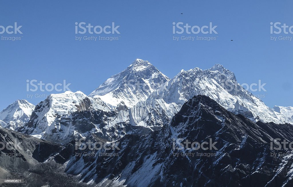 highest peaks of the world Amadablam stock photo