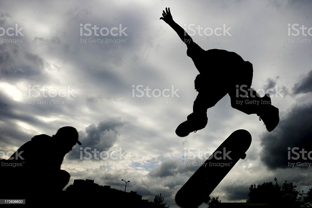 High-flyer royalty-free stock photo