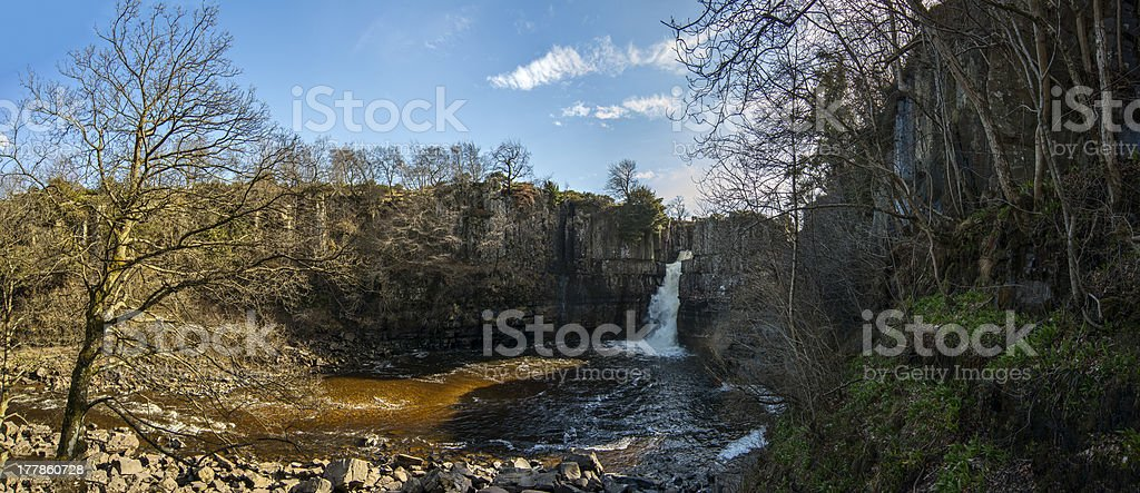 Highforce waterfall stock photo