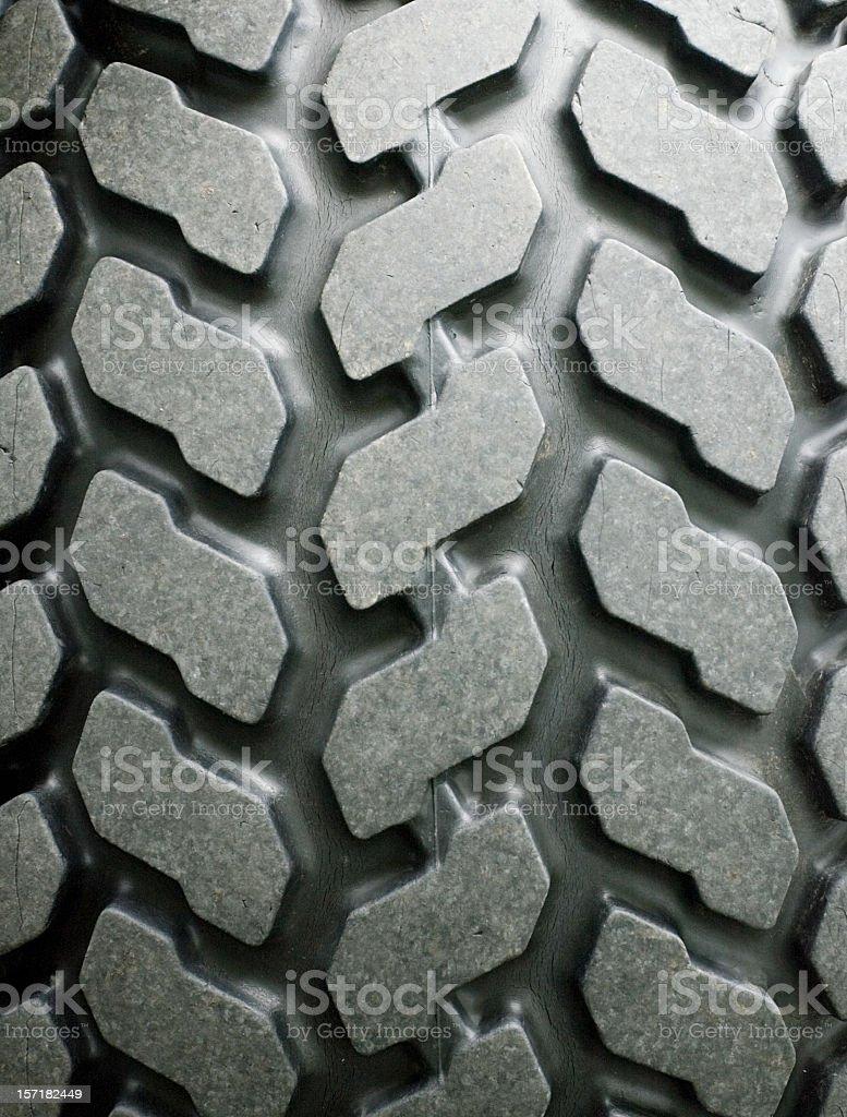 High-Grip tire tread royalty-free stock photo