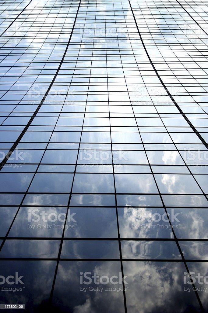 High-Key Urban Skyrise royalty-free stock photo