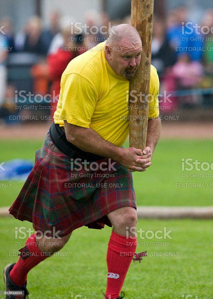 Highland Games - Scotland stock photo