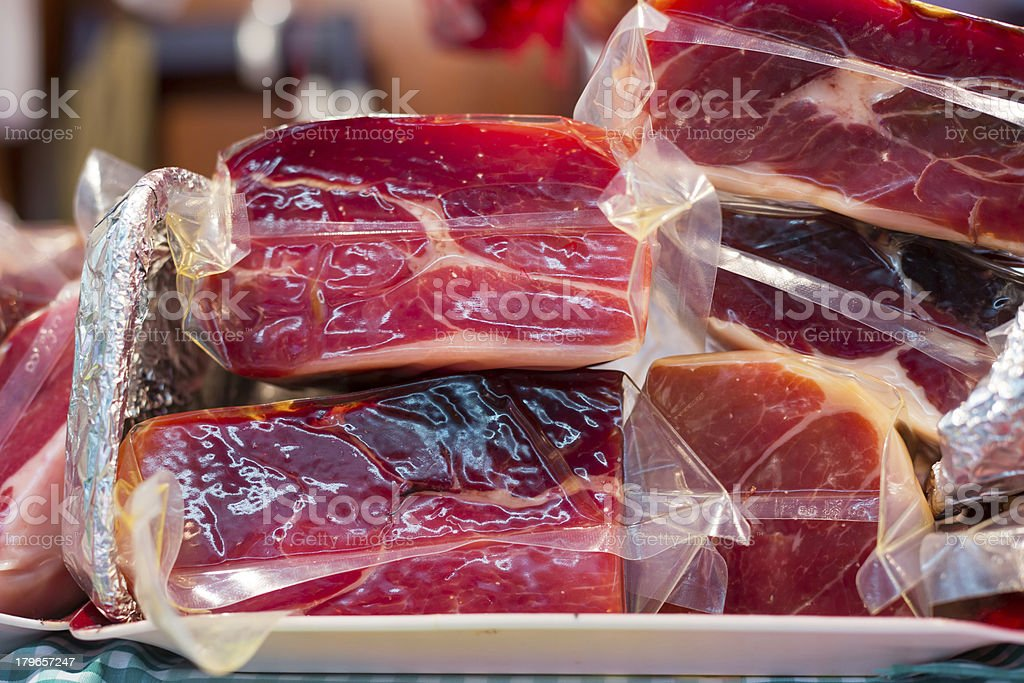 Highland ham stock photo