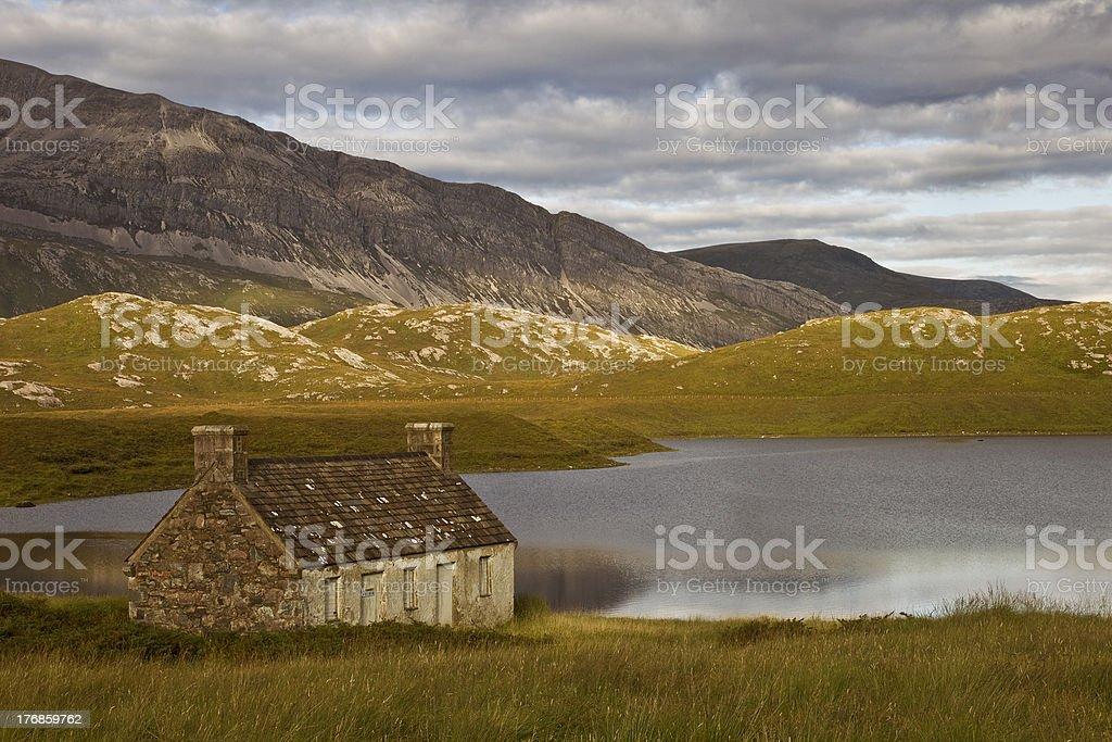 Highland House stock photo