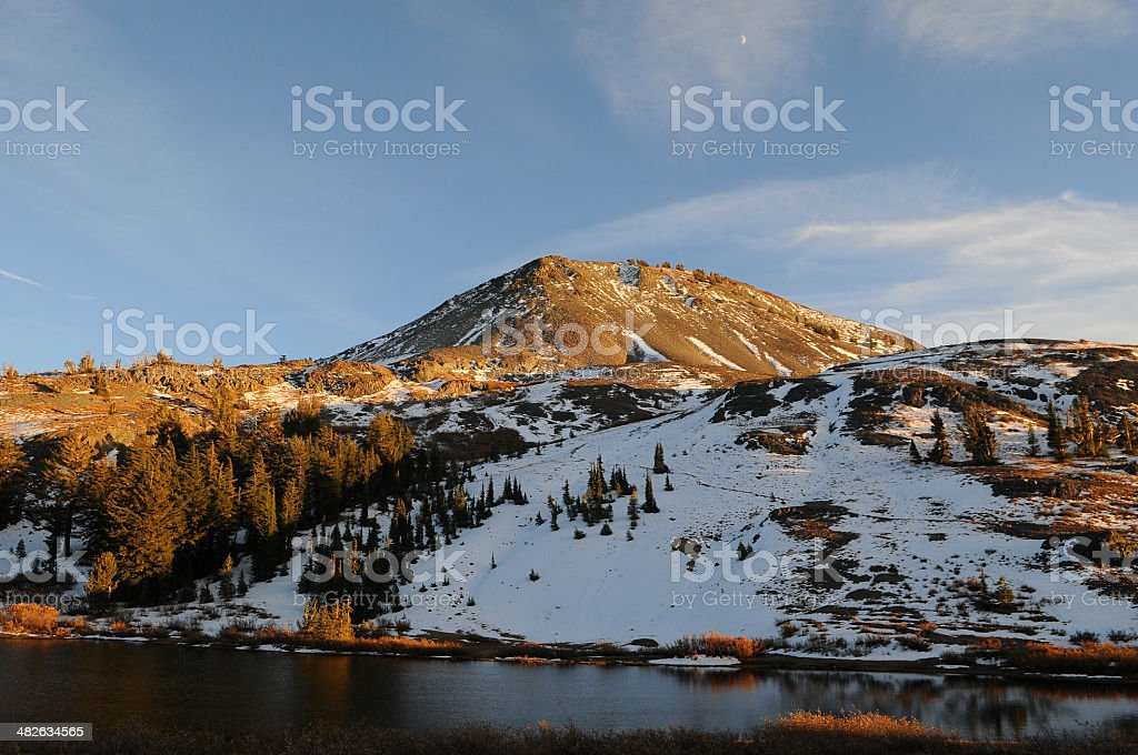 Highland Lakes Horizontal royalty-free stock photo