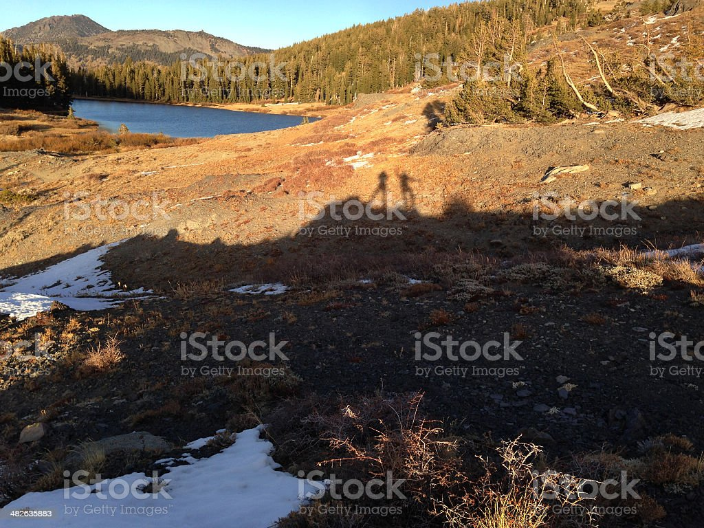 Highland Lakes in the Late Afternoon royalty-free stock photo