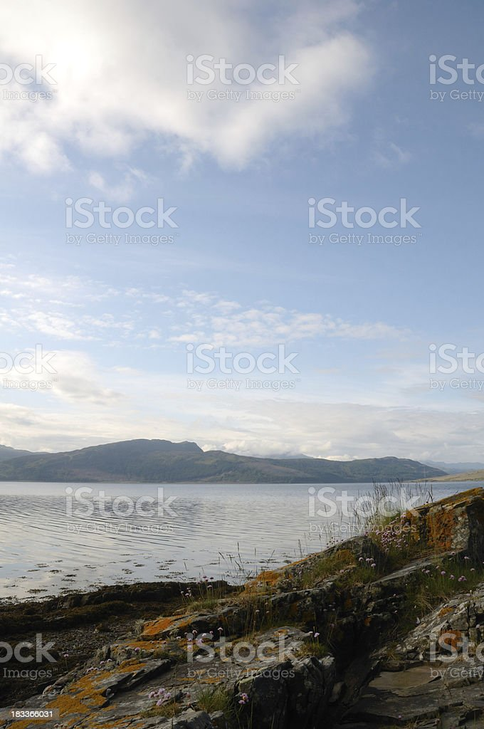 Highland Loch. royalty-free stock photo