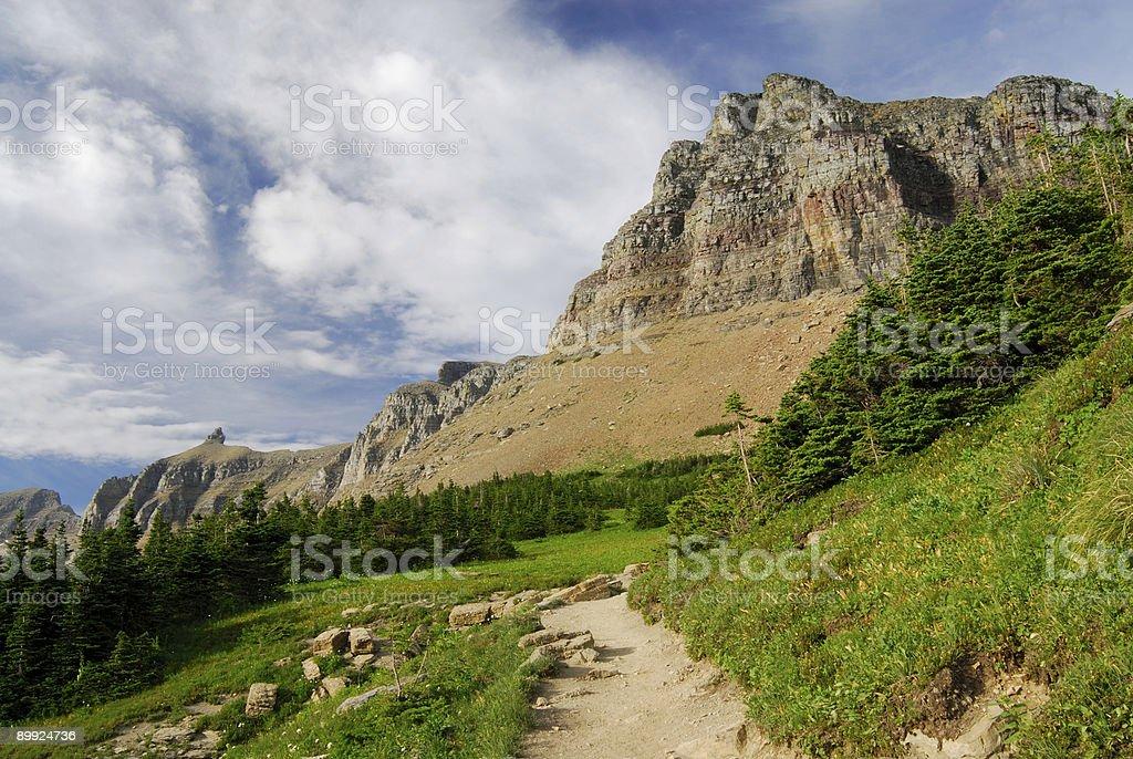 Highland Trail royalty-free stock photo