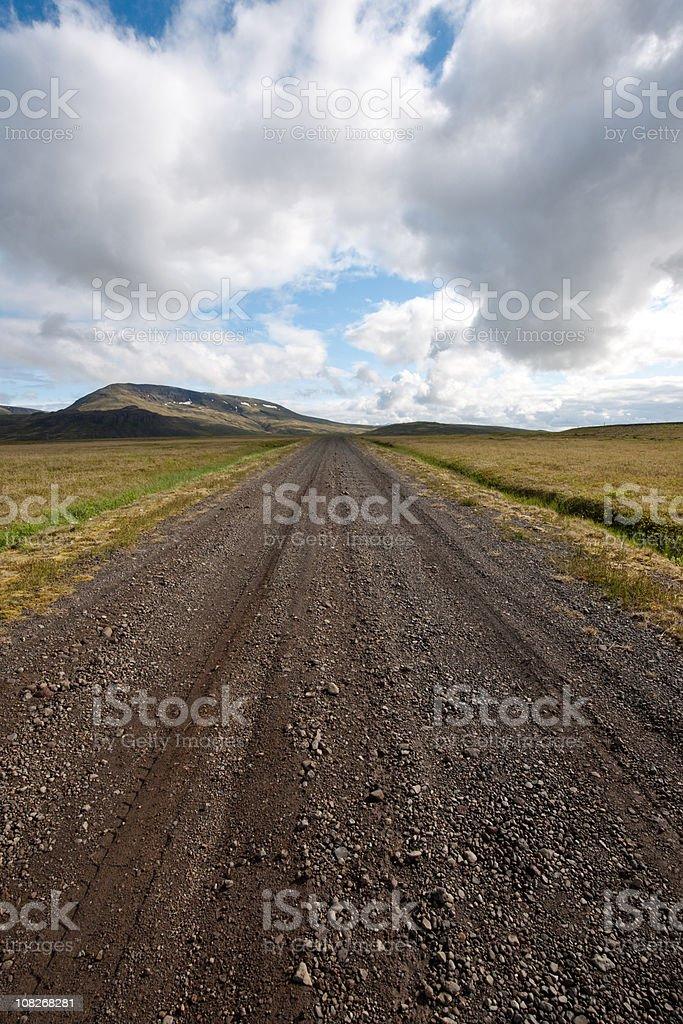 Highland way stock photo