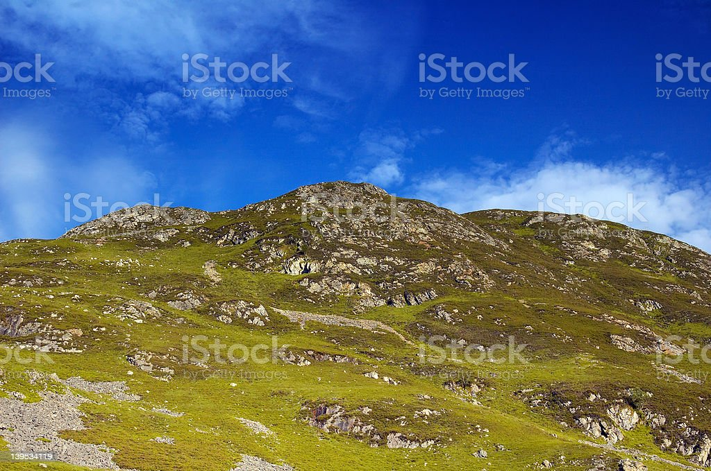 Highlands of scotland royalty-free stock photo