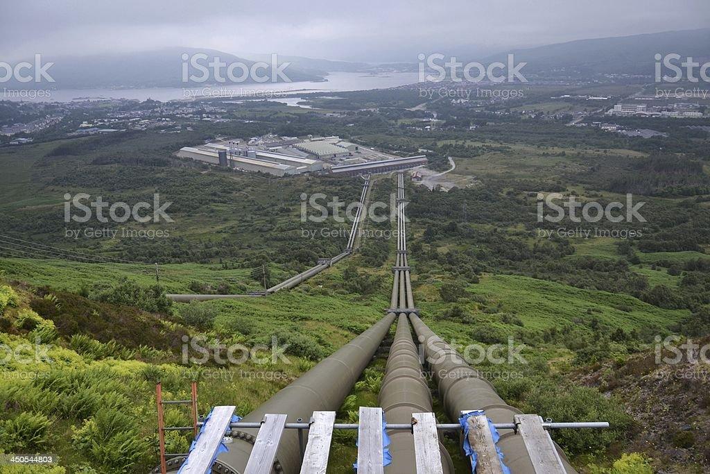Highlands stock photo