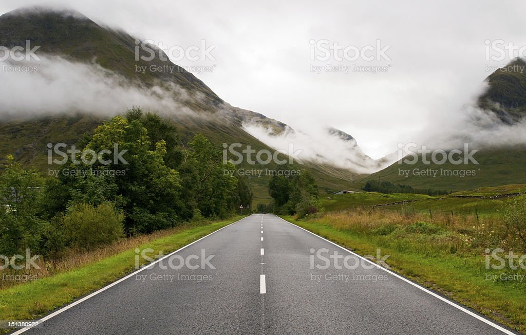 Highlands ,  Scotland stock photo