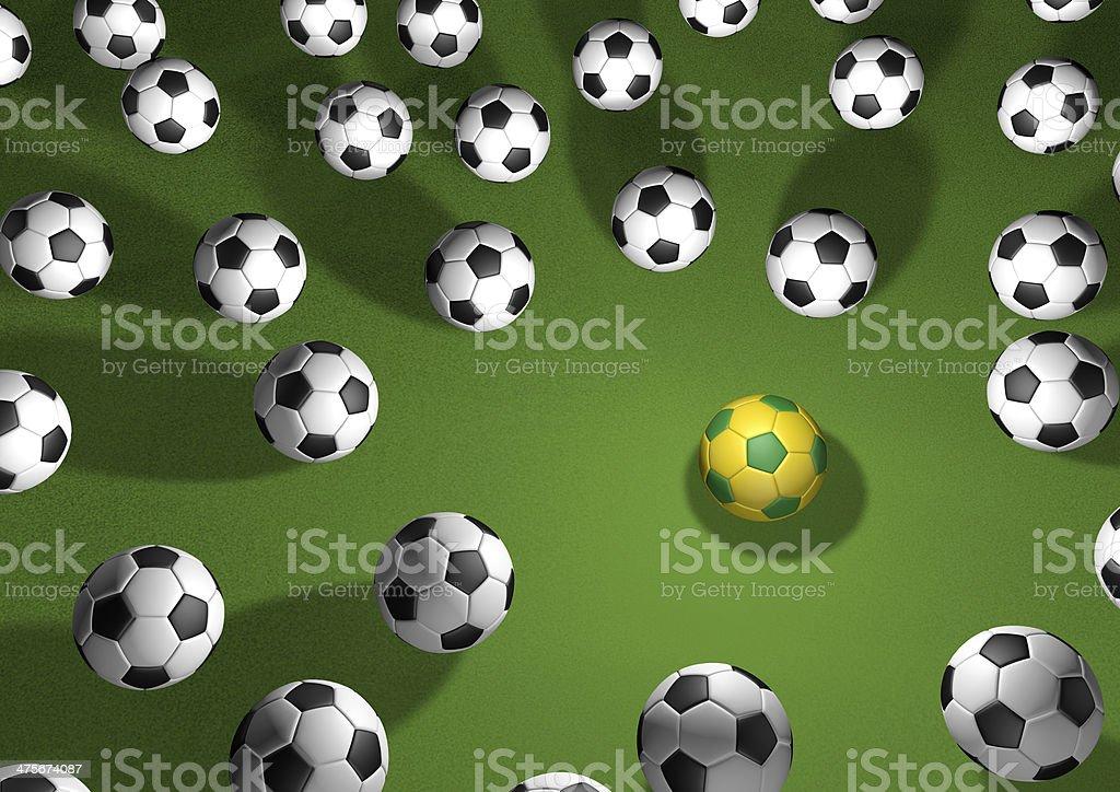 Highlight Fußball 2014 Lizenzfreies stock-foto