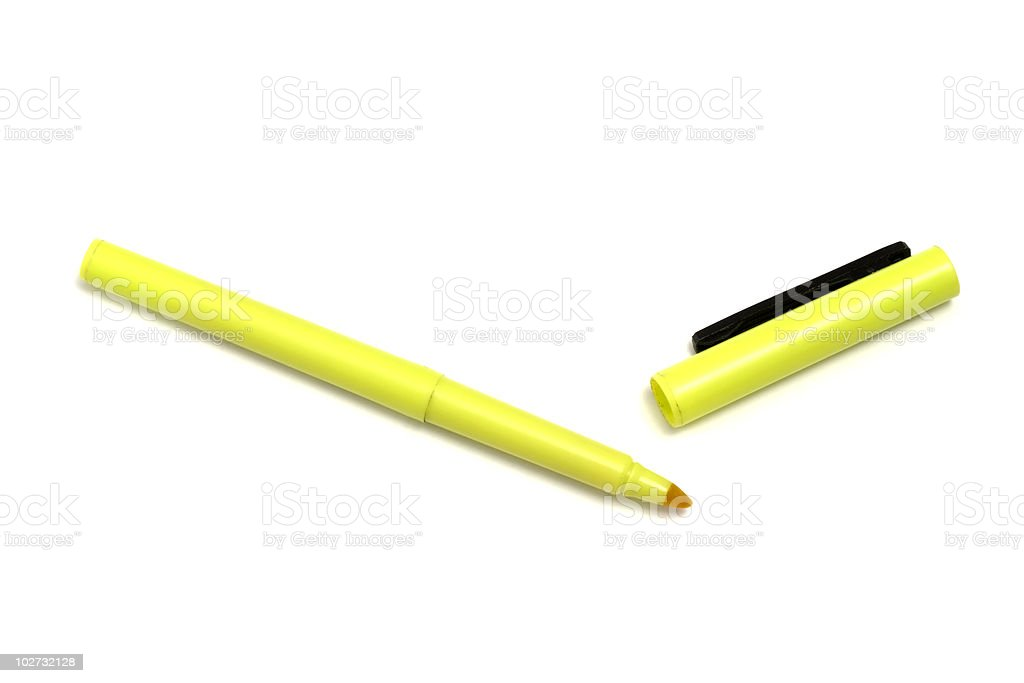 Highlighter stock photo