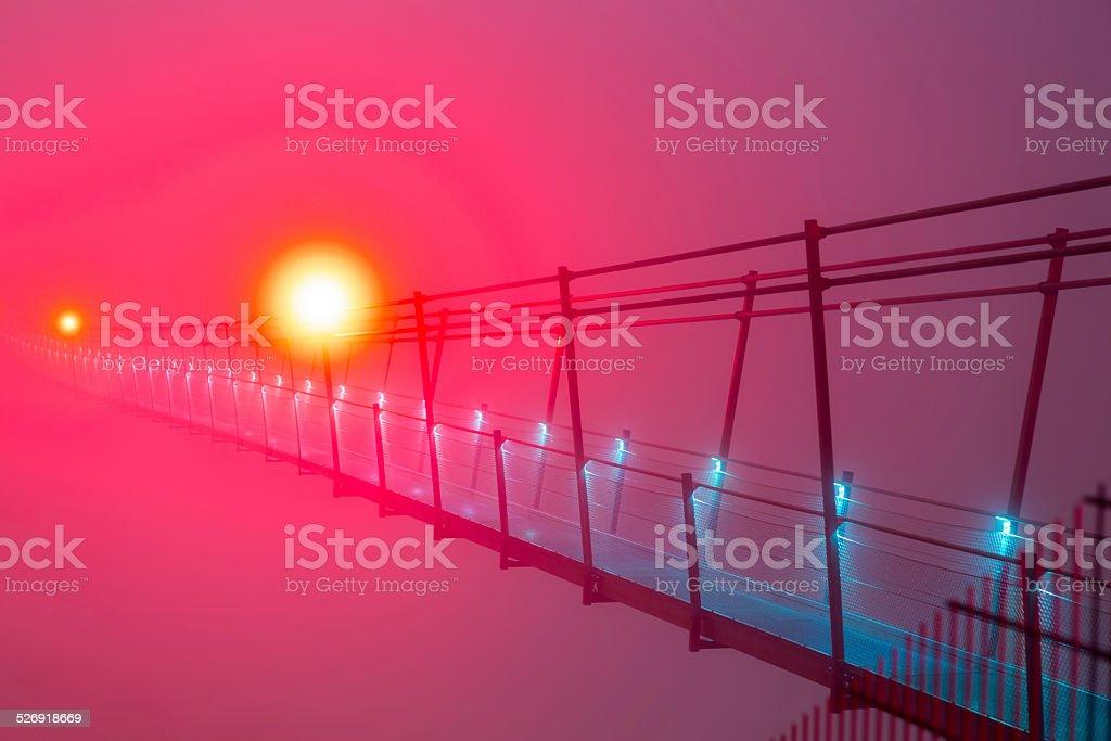 Highline 179 - World Record stock photo