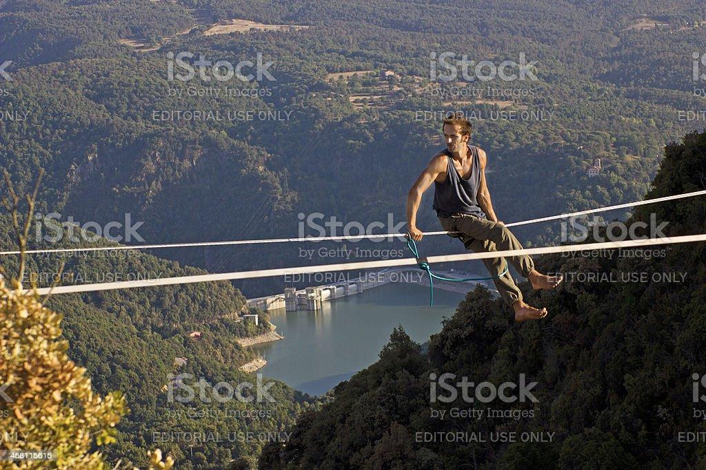 Highline in tavertet stock photo