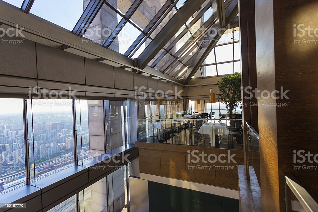 high-rise building in the hotel royalty-free stock photo