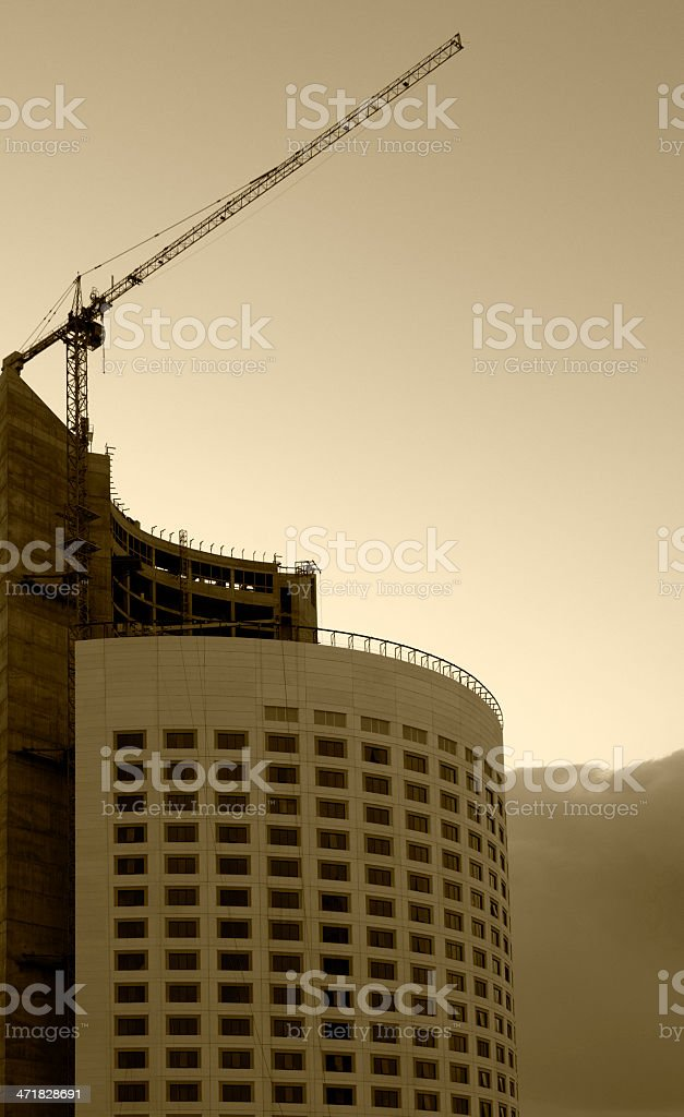High-Rise Building Series royalty-free stock photo