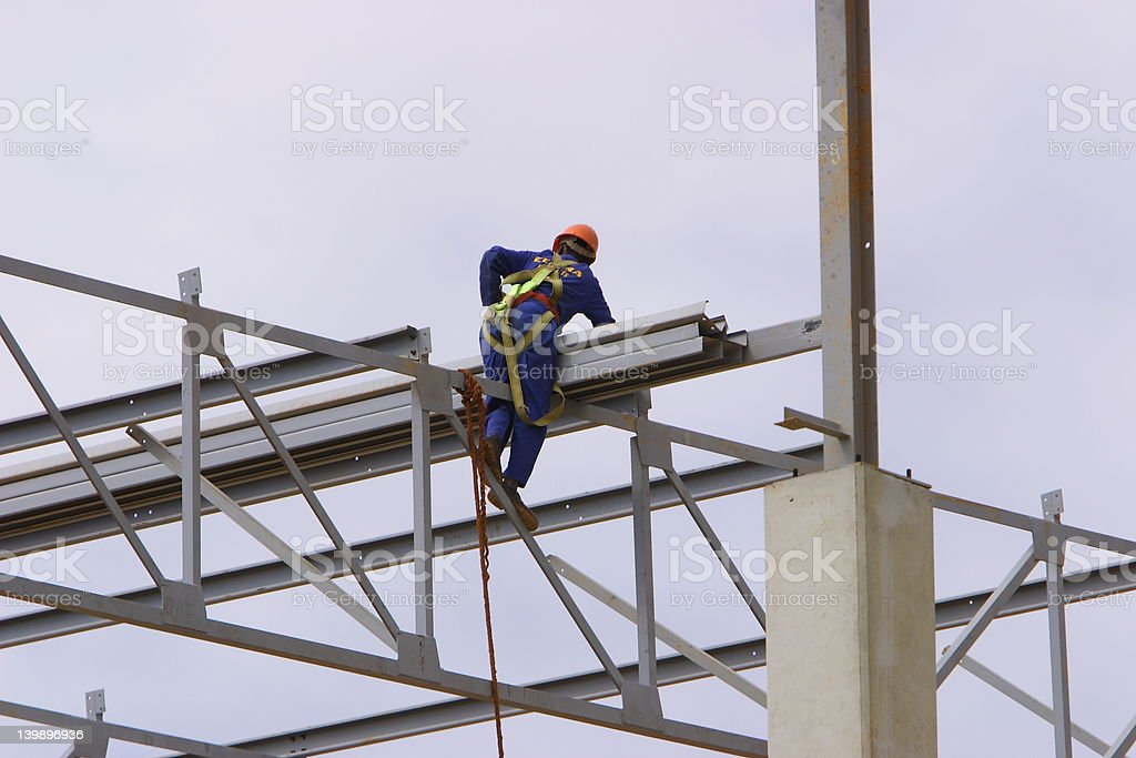 High-rise construction stock photo
