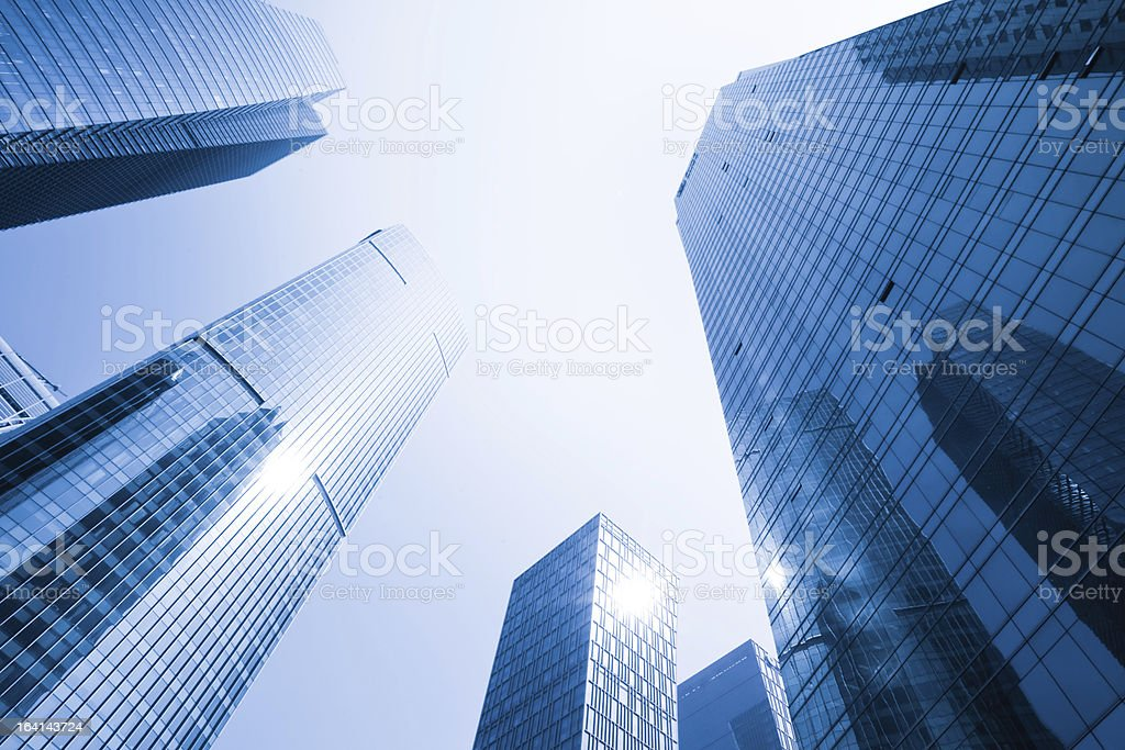 Highrise glass building royalty-free stock photo