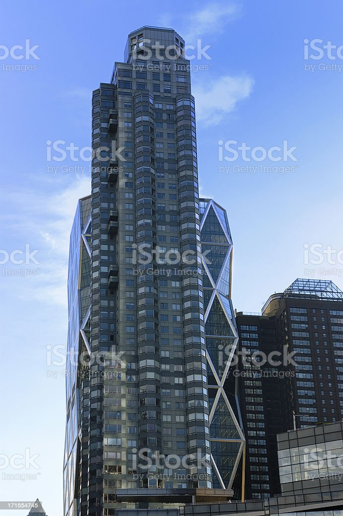 Highrise in NYC royalty-free stock photo