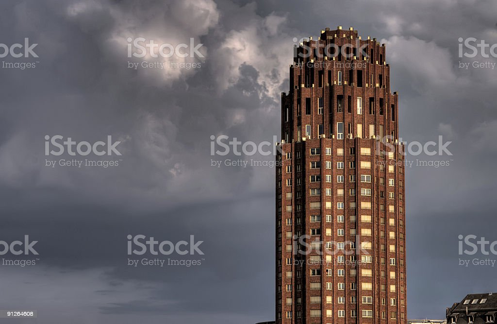 Highrise Living royalty-free stock photo