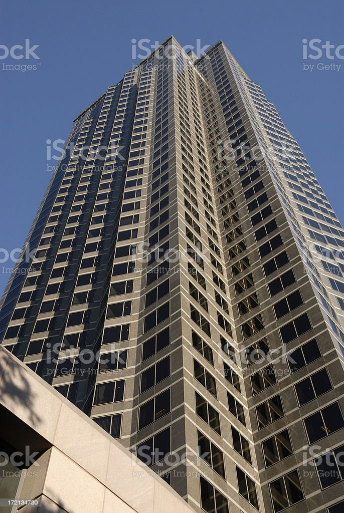 Highrise office building royalty-free stock photo